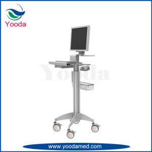 Operation Room Teaching Cart with Display Arm for Two Screen pictures & photos