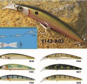 125mm Floating Jeark a Top Factory′s Cheap Price --- High Quality Made Custom Hard Plastic Fishing Crankbait - Wobbler - Minnow- Popper Fishing Lure pictures & photos