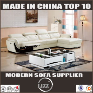 China Modern Furniture Sets Genuine Leather Living Room Recliner Sofa pictures & photos