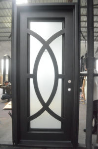 Modern Design Wrought Iron Single Door pictures & photos