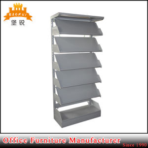 Hot Selling Kd Six Tiers Iron Magazine Shelf pictures & photos