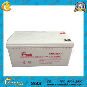 12V 200ah AGM Technology Rechargeable Lead Acid Battery pictures & photos