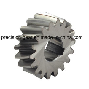 Helical Gear for Cutting Plate Machine, Steel Helical Teeth Gear pictures & photos