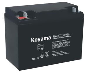 12V 50ah Storage Battery for Solar Np50-12 pictures & photos