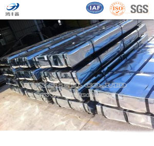 Regular Spangle Hot Dipped Zinc Coated Steel Plate pictures & photos