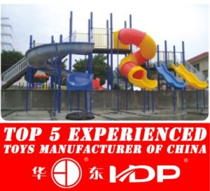 Outdoor Plastic Water Tube Slides for Children (HD14-126C) pictures & photos