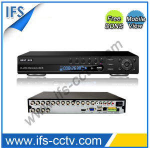 16CH P2p CCTV HVR (ISR-7216DH) pictures & photos