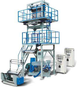 HDPE Special ABA Three Layers Film Blowing Machine pictures & photos