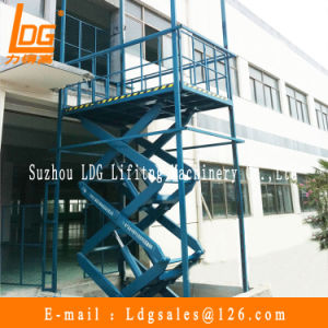 Warehouse Hydraulic Scissor Cargo Lift (SJG2-9)