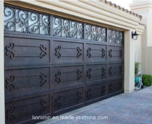 Elegant and Beautiful Doors for Garage with Iron pictures & photos