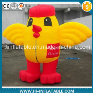 Custom Made Advertising Inflatable Chubby Chicken Cartoon Model, Inflatable Animal / Mascot Cartoon for Malls / Kids