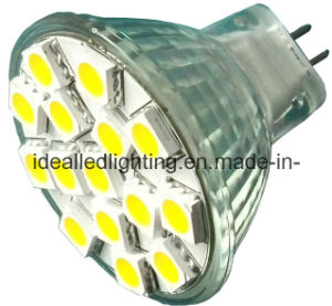LED MR11 15SMD Spotlight 10-30VDC