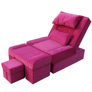 China beauty salon rose bengal massage sofa chair for sale for Salon sofa for sale