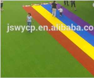 Hot Sale Natural Looking Artificial Turf for Kindergarten with Good Color Keep Cg/SGS Approved Wy-12