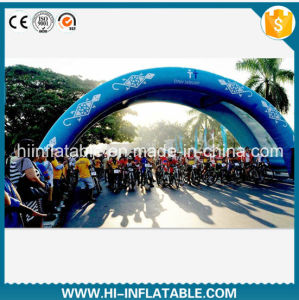 Custom Made Inflatable Ride Racing Arch, Inflatable Cycling Racing Arch, Inflatable Start / Finish Line Arch No. 12406 for Sale