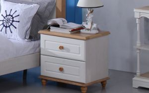 Solid Wooden Drawers Bedside Nightstand (M-X2092) pictures & photos