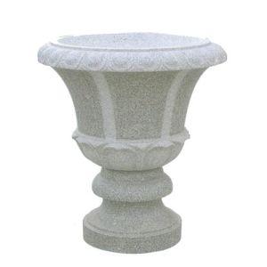 Chinese Marble Stone Flower Planter Flower Pot Stone Vase