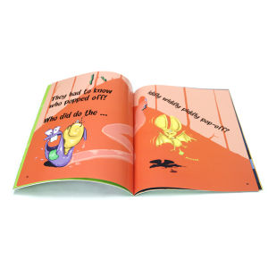 Custom Color Children Book Printing (OEM-SC018) pictures & photos