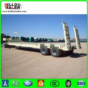 50 Ton Lowbed Truck Trailer for Tractor pictures & photos