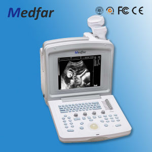 Portable Vet Black&White Ultrasound MFC180V pictures & photos