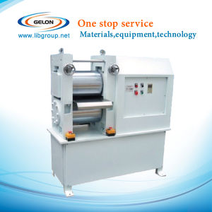 Lithium Ion Battery Electrode Roll Press Machine for Li-ion Battery Lab and Pilot Line pictures & photos