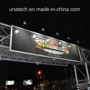 Highway Bridge Outdoor Advertising Tri-Vision LED Outer Lighting Billboard pictures & photos