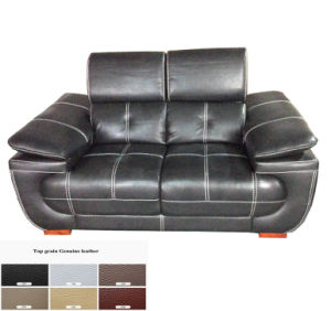 Black Modern Sofa, Leather Sofa Furniture (C40) pictures & photos