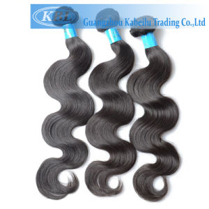 100% Remy Human Hair Extension, Natural Virgin Brazilian Hair pictures & photos