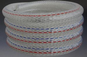 Polyester Fiber and Steel Wire Reinforced PVC Hose