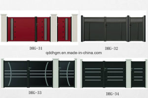 European Style High Quality Aluminum Villa Yard Gate pictures & photos