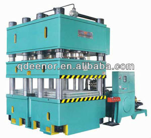 Four Column Tire Vulcanizing Machine / Automatic Tyre Making Machine pictures & photos