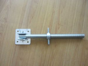 Steel Galvanized Cuplock System Scaffolding Adjustable Screw Jack pictures & photos