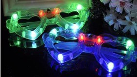 Luminous LED Glasses for Concert KTV Bars Party Christmas (TV576) pictures & photos