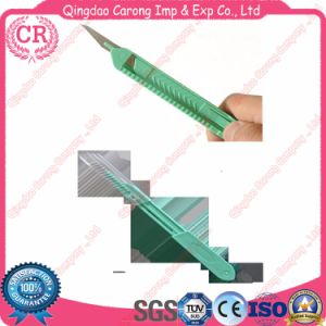 Plastic Handle Disposable Spring Safety Scalpel pictures & photos