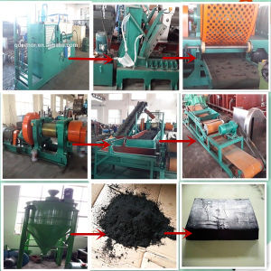 Waste Tire Recycling Crusher pictures & photos
