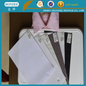 Double DOT Adhesive Woven Interlining for Coats pictures & photos