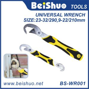 Multi-Function Adjustable Universal Quick Snap Grip Wrench Tool Spanner pictures & photos