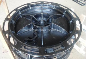 Ductile Iron Manhole Covers with SGS Certification (DN600) pictures & photos