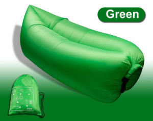 Fast Inflatable Sleeping Bag Summer Camping Waterproof Lamzac Low Price Air Bag pictures & photos