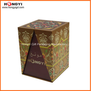 Handmade Rigid Folding Printing Paper Box Perfume Box (HYP004) pictures & photos