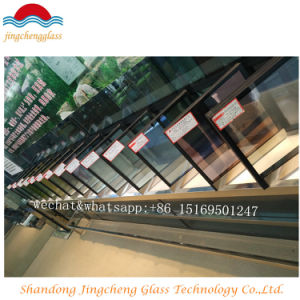 6mm HS Soft Coated+12 AG+ 6mm Clear Thoughened Insulating Glass pictures & photos