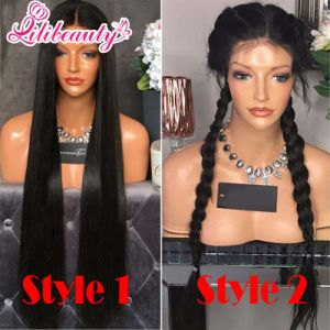 Brazilian Virgin Human Hair Glueless Full Lace Wigs with Baby Hair pictures & photos