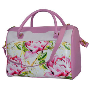 Fashion PVC Handbag with Different Printing pictures & photos