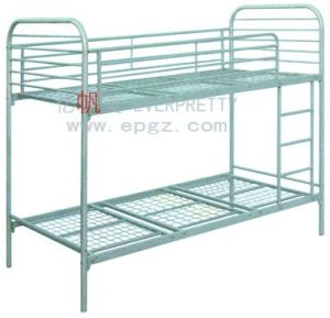 Dormitory Furniture Factory Customized Steel Frame Bunk Bed pictures & photos