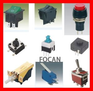 Push Button Switch; Tact Switch, Power Switch, Rock Switch; Toggle Switch; Push Switch, Pressure Switch (FC-16111) pictures & photos