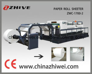 Two Rolls Machine to Cut Paper