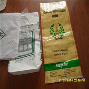 China Shandong Manufacturer Factory Virgin Food BOPP PP Woven Rice Bag pictures & photos