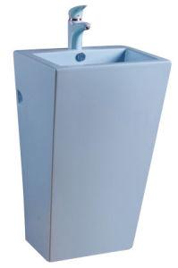 China Luxury Pedestal Ceramic Wash Vanity CE-D301p pictures & photos