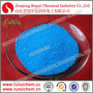Cu Fertilizer Blue Vitriol 98% Copper Sulphate Pentahydrate Crystal pictures & photos