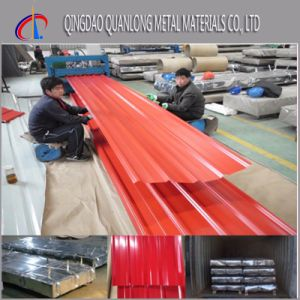 55%Al Color Coated Gl Roofing Steel Sheet pictures & photos